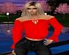 *N*Red Gypsy blouse