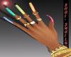 *Ra Ra Rainbow Nails
