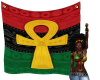 PanAfrican Ankh Tapestry
