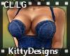 *KD CL/LG Jeans top