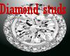 Lux Diamond Stud Earring