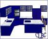 clbc blue kitchen
