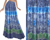 TF* BOHO Long Skirt Blue