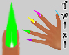 ! Claws -nails- Bright