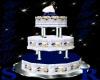 Dark Blue/White W.Cake