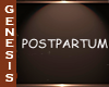 GD Postpartum Sign