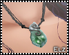 *E* Jade Necklace
