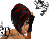 Djx red and black hairs