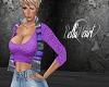 Purple Top with Vest