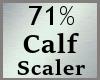 Calves Calf Scale 71% MA