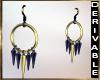 (A1)Sim jacket earrings