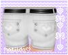 White HeartPocket Shorts