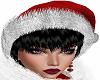 [em] santa hat n bl hair