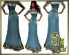 *Medieval Blue Dress