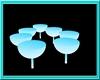 {R}Pandora Chairs Blue
