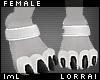 lmL Anklet White F