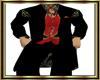 Elegant Antique-Red Suit