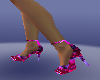 mix coller heel shoes