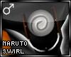!T Naruto shirt swirl