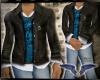 Light Blue Fox Jacket