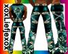 [L] Indian Aqua Pants M