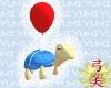 Turtle Balloon Snow Drea