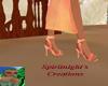 Sun Burst Orange Heels
