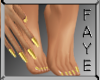 Gold Dainty Manicure