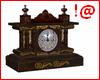 !@ Antique table clock