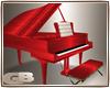 red piano trigger :piano