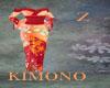 Kimono Red Orange