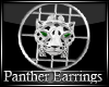 ~MSE~ PANTHER EARRINGS