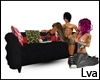 Decor couch with poses