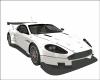 Aston Martin DBR9 White