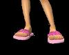 Pink Hearts Sea Sandals