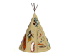 Decorated Teepee