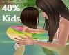 Kids swim tube float 40%