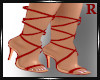Sabina Heels Red