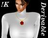 !K!  Rose Necklace Mesh