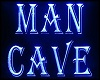 MAN CAVE SIGN NEON