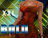 XXL Bold Afro Dress