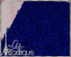 BLUE FURRY RUG