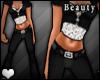 [B] Pinstripe Suit - BLK