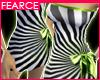 F! - Lime Zebra