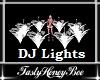Flower DJ lights White