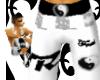 LNR Blk-N-White Shorts
