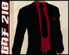 Black Suit w/Dark Red