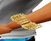 Left Arm Gold Bracelet