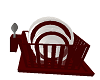 Filled Dish Rack Red