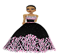 kid ball gown